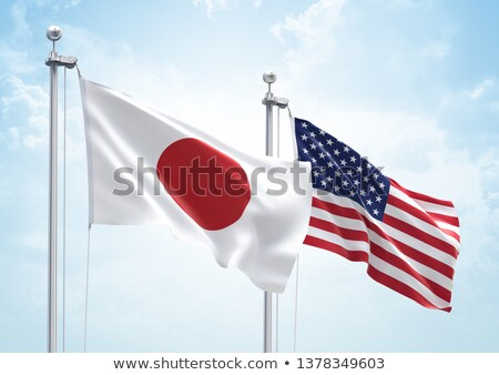 3D bayrak Amerika Birleşik Devletleri Amerika Stok fotoğraf © butenkow