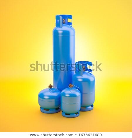 Stok fotoğraf: Sprey · boya · çelik · yakıt · tank · grunge · web