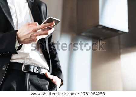фото кавказский жестокий бизнесмен Сток-фото © deandrobot