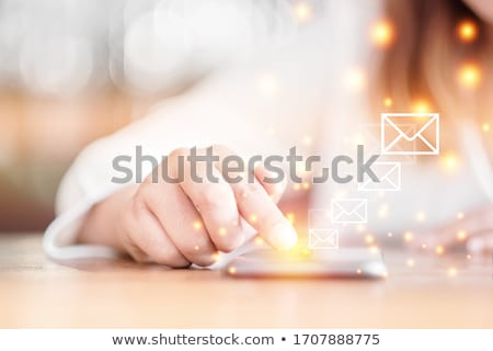 Sending email concept Stock photo © silent47