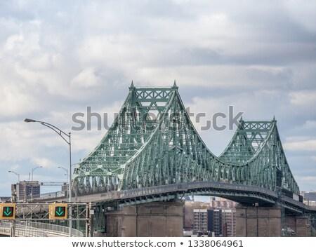 моста святой реке Монреаль небе зеленый Сток-фото © aladin66