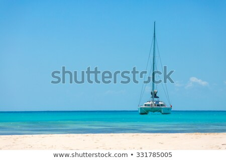 Sailing in tropical climate Stock photo © mtilghma