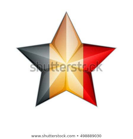 Estrelas bandeira prestados vermelho preto amarelo Foto stock © HerrBullermann