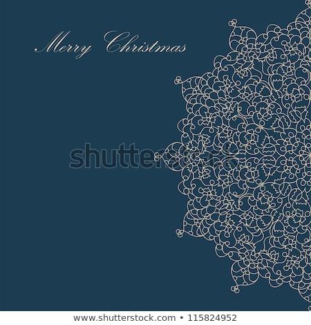 cute color christmas card eps 8 stock photo © beholdereye