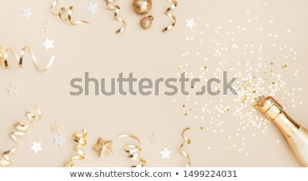 óculos · champanhe · dois · arco · bebidas - foto stock © sandralise