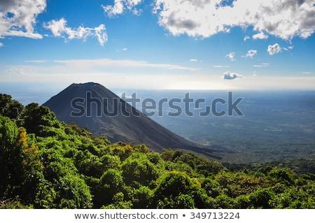 エルサルバドル · 共和国 · 北 · アメリカ · マップ · プラス - ストックフォト © Vectorminator