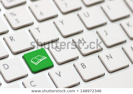 Button keypad learn concept of education. stock photo © borysshevchuk