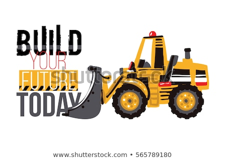 bulldozer · sloop · diesel · graafmachine - stockfoto © digitalstorm