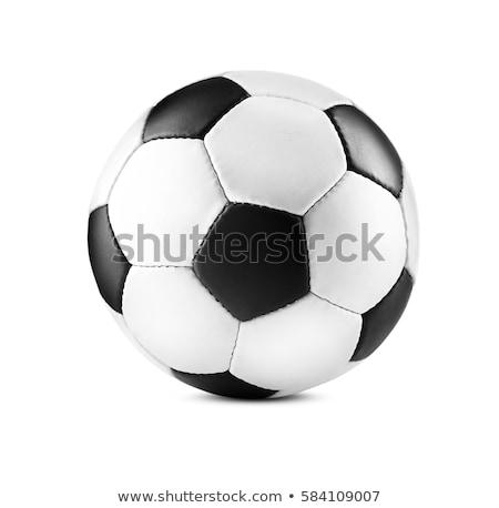 футбольным мячом ждет Футбол футбола мяча Сток-фото © CarpathianPrince