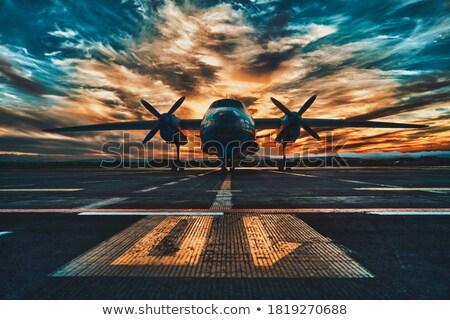 Uçak uçuş askeri eğitim Stok fotoğraf © Carpeira10