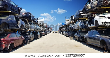 junkyard Stock photo © sirylok