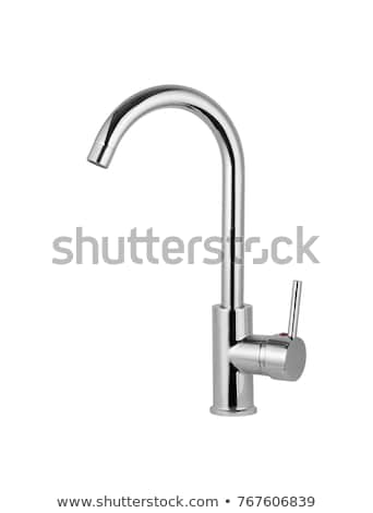 plumber fitting a kitchen tap stock photo © photography33