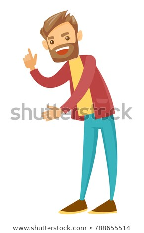 Businessman shaking his finger in anger Stock photo © photography33