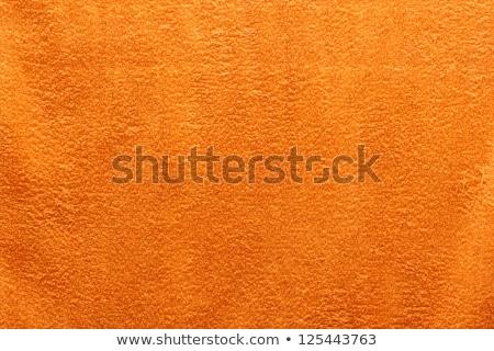 ярко оранжевый пляжное полотенце пляж текстуры ткань Сток-фото © photography33