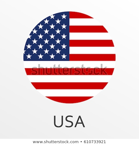 united states of america flag and buttons stock photo © milsiart