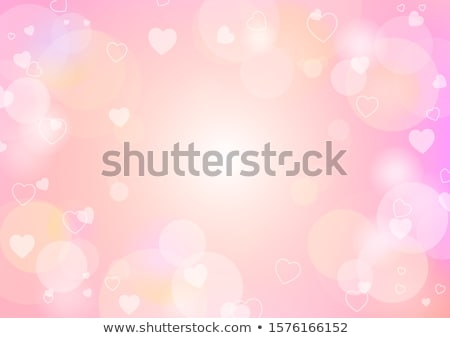 abstract red shiny heart background stock photo © pathakdesigner