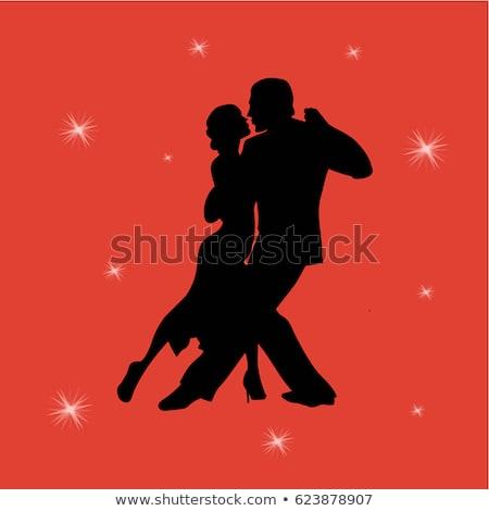 közelkép · nő · szamba · táncos · derűs · pózol - stock fotó © feedough