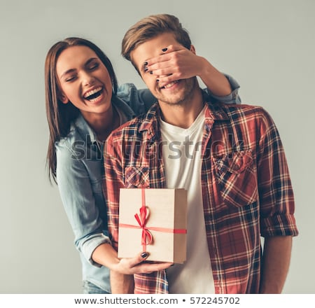woman giving man her heart stock photo © photography33