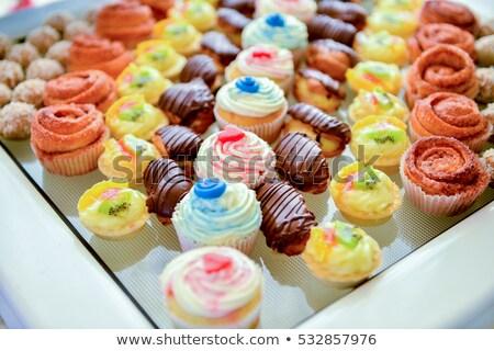 diversified chocolate candies Stock photo © taviphoto