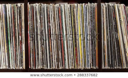 vinyl records collection Stock photo © sirylok