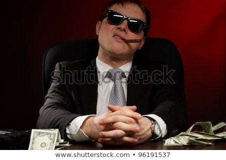 An Italian mobster Stock photo © photography33