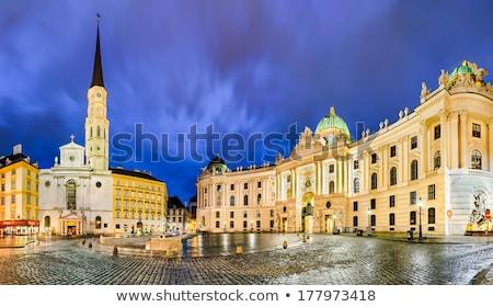 chiesa · Vienna · Austria · costruzione · città · blu - foto d'archivio © vladacanon