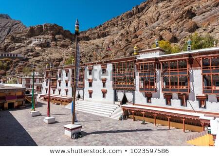 Klooster Indië historisch zomer reizen steen Stockfoto © haraldmuc