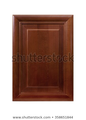 Brown cabinet door  Stock photo © michaklootwijk