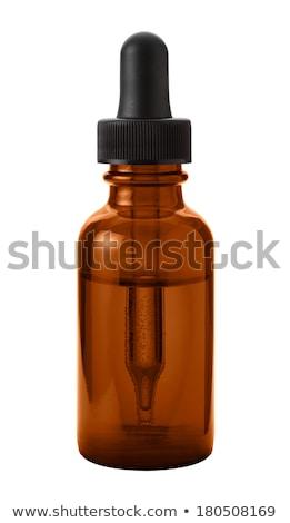 Gyógyszer cseppentő izolált vágási körvonal tele fókusz Stock fotó © danny_smythe