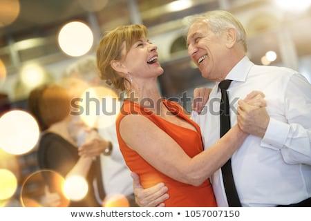 Sala balowa para taniec wraz studio kobieta Zdjęcia stock © Forgiss