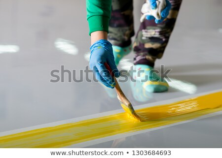 Workers with brush Stock photo © photography33