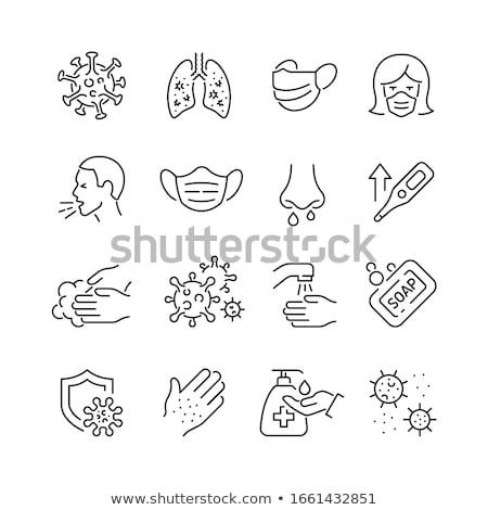 textiles · soins · signes · signe · buanderie - photo stock © krabata