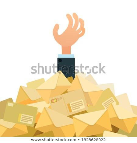 pile of envelopes stock photo © tashatuvango