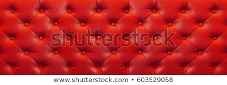 soft wrinkled red leather texture or background stock photo © photocreo
