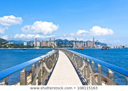 日没 · 海岸 · 香港 · 夏 · 風景 · 背景 - ストックフォト © kawing921
