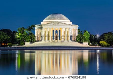 Stok fotoğraf: Washington · DC · gece · tarih · Amerika · alışveriş · merkezi · turizm