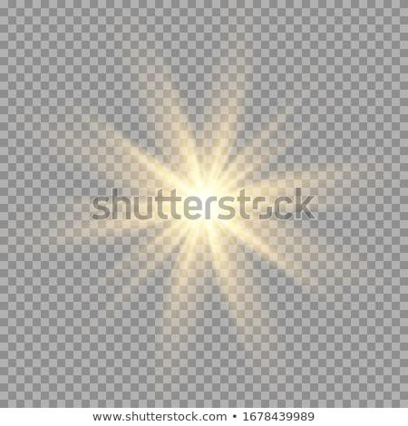Słonecznej migotać star wybuch jasne czarny Zdjęcia stock © ArenaCreative