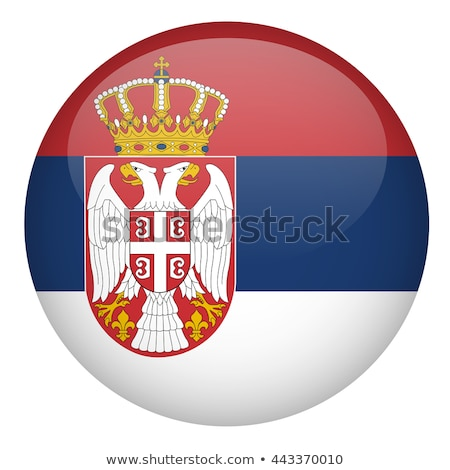 Button Serbia Stock photo © Ustofre9