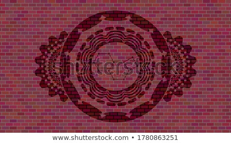 Chemicals effect on brick wall  Stock photo © SecretSilent