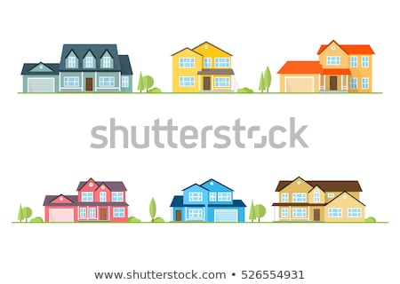 Modern infographic with upscale colors Stock photo © mike301