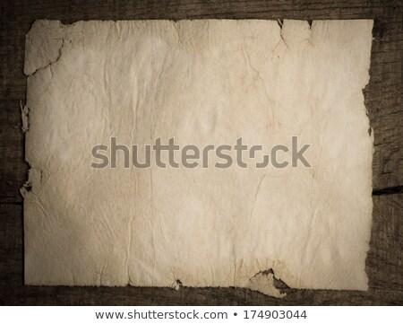 papier · attaché · fiche · fond · vert · bleu - photo stock © inxti