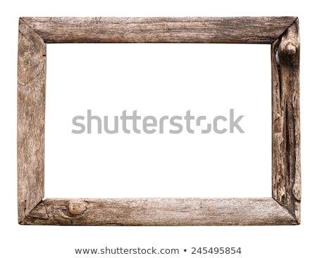 Rustic picture frame stock photo © charcoal