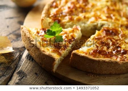 Mini sebze turta yumurta peynir Stok fotoğraf © stevemc
