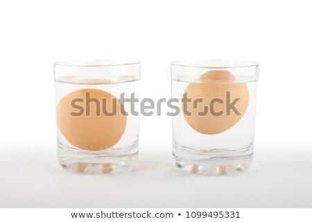 свежие · яйца · стекла - Сток-фото © raphotos