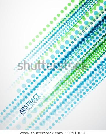 Colorful Techno Dots Stock photo © burakowski