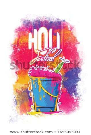Festival colorido ilustração vetor arte asiático Foto stock © bharat