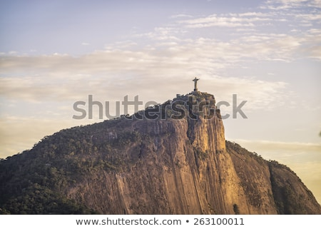 Jesus Christ over Rio de Janeiro Stock photo © xura
