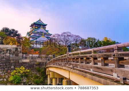 Осака город плотный Skyline район Япония Сток-фото © cozyta
