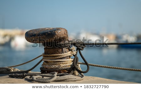 Mooring bollard Stock photo © marekusz