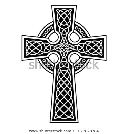 Old celtic cross Stock photo © Julietphotography